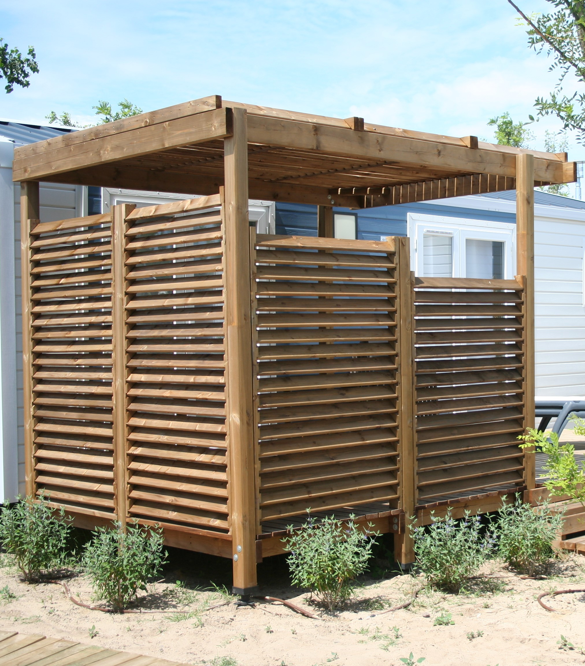 terrasses mobil home christophe roux. Black Bedroom Furniture Sets. Home Design Ideas